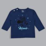 Disney Baby Girls T-shirt With Pajama Set , Navy/Mint - SIMGS20LIG010