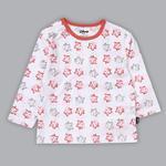 Disney Baby Girls T-shirt With Pajama Set , White/Coral - SIMGS20LIG008
