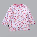 Disney Baby Girls T-shirt With Pajama Set , White/Pink - SIMGS20LIG005