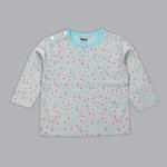 Disney Baby Girls T-shirt With Pajama Set , Grey/Sky Blue - SIMGS20LIG004