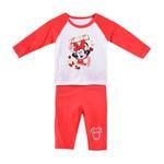 Disney Baby Minni Baby Girls Pajama Sets, Red/White-NCGDBIBCP11C