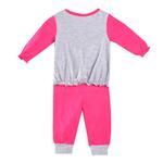 Disney Baby Ariel Baby Girls Pajama Sets, Fuchsia/Grey-NCGDBIBCP12C