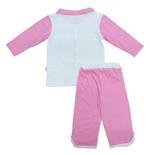Disney Baby Cinderella Baby Girls Pajama Sets, White/Pink-NCGDBIBCP14C