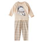Chiquitos Baby Boys T-Shirt With Pajama Set,Cream,BAGCBJ403