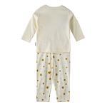 Chiquitos Baby Boys T-Shirt With Pajama Set,Cream,BAGCBJ401