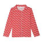 Genius Girls Pajama Set , Red - HDGLSS212237
