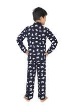 Genius Boys Top With Pyjama Set , Navy - SIMGS21521035