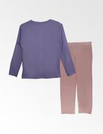 Disney Frozen Girls T-shirt With Pyjama Set , Lilac/Beige - TCGLAW2011925