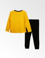 SpongeBob Boys T-shirt With Pyjama Set , Yellow/Black - TCGLAW2011941