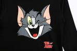 Tom And Jerry Boys T-shirt With Pyjama Set , Black/Dark Grey - TCGLAW2011945