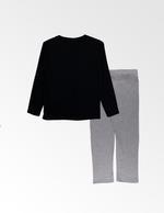 Harry Potter Boys T-shirt With Pyjama Set , Black/Grey Millange - TCGLAW2011949