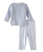 Smart Baby Baby Girls T-Shirt With Pyjama Set,Light Grey/White-BIGSS21SG516