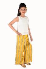 Nexgen Girls Girl Palazzo ,Yellow-MCG702BG19
