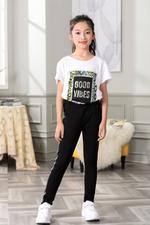 Nexgen Girls Girl Pant,Black,GEGSS2020253