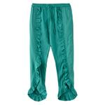 Nexgen Girls Girl Solid Ruffle Pants,Sage Green - KFGS201539CL5