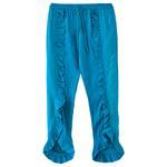 Nexgen Girls Girl Solid Ruffle Pants,Turquoise - KFGS201539CL6