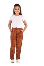 Nexgen Girls Girl Printed Pants,Copper/White - KFGS201538P2