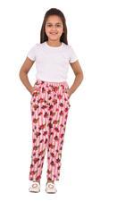 Nexgen Girls Girl Printed Pants,White/Pink - KFGS201538P3
