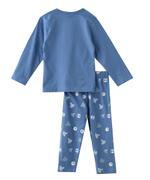 Genius Boys T-shirt With Full Pant Set , Sky Blue - SNGAW2036756