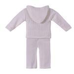 Smart Baby Baby Boys 2 Pc Set,White-TIG18846B