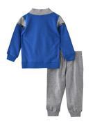 Genius Boys Top With Full Pant Set , Dutch Blue/Grey - MCGAW209460