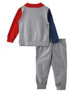 Genius Boys Top With Full Pant Set , Multi/Gray - MCGAW209468