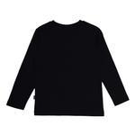 Genius Boys T-shirt With Full Pant Set , Navy/Grey Melange - HDGLSS21B2311