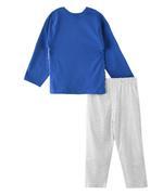 Genius Boys T-shirt With Long Pant Set ,Royal Blue/ Grey Millanch- SNGSS2137234