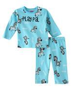 Smart Baby Baby Boys T-shirt With Full Pant Set , Aqua Blue - SIMGS21411053