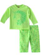 Smart Baby Baby Girls T-shirt With Full Pant Set , Neon Lime - SIMGS21911046