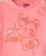 Smart Baby Baby Girls T-shirt With Full Pant Set , Peach - SIMGS21911044