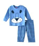 Smart Baby Baby Boys T-shirt With Full Pant Set , Airforce Blue - SIMGS21411059