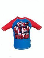 Spiderman Boy's Swimwear Rash Guard,Red/Blue,HWGLSWSM309