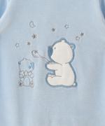 Smart Baby Baby Boy Romper , Blue/White - TIGAW20TGR003