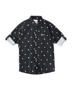 Chase Boys Shirt , Black - SIMG3569C