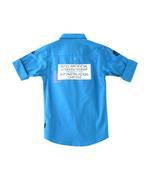 Chase Boys Shirt , Royal Blue - SIMG3773D
