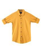 Chase Boys Shirt , Musturd - SIMG3643U