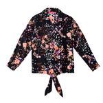 Nexgen Girls Girl Printed Shirt,Black - KFGSS201569