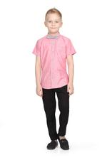 Little Kangaroos Boys Shirt With Bow ,Coral,ROGS2019117C