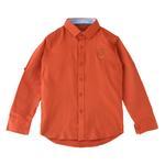 Nexgen Juniors Boys Shirt,Orange,SIMG20S4050O