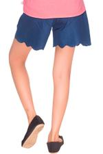 Disney Princess Girls Denim Short Culottes, Denim Blue-HWGLPR93