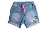 Little Kangaroos Girls Shorts,Light Blue-ROGS2019534A
