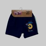 Smart Baby Baby Boys 2 Piece Pack Shorts , Navy Blue/Seafoam - NCGSS21SBPB6C