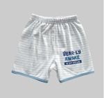 Smart Baby Baby Boys 2 Pack Shorts, Mint/Stripe - NCGSS21SBPB3C