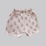 Smart Baby Baby Girls 2 Pack Shorts , Peach/Pink - NCGSS21SBPG6C