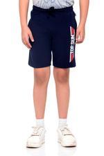 Top Gun Boys Shorts , Navy Blue - HWGLS21BTN16