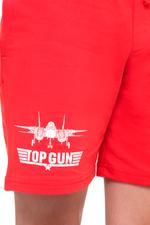 Top Gun Boys Shorts , Red - HWGLS21BTN15