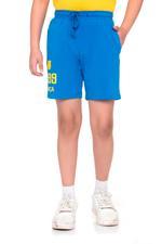 FCB Boys Shorts , Blue - HWGLS21BTN01