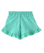 Nasa Girls Shorts , Sea Green - HWGLS21SH111