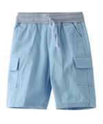Nexgen Juniors Boys Jamaican Cargo Short , Sky Blue - SIMGSS219303B